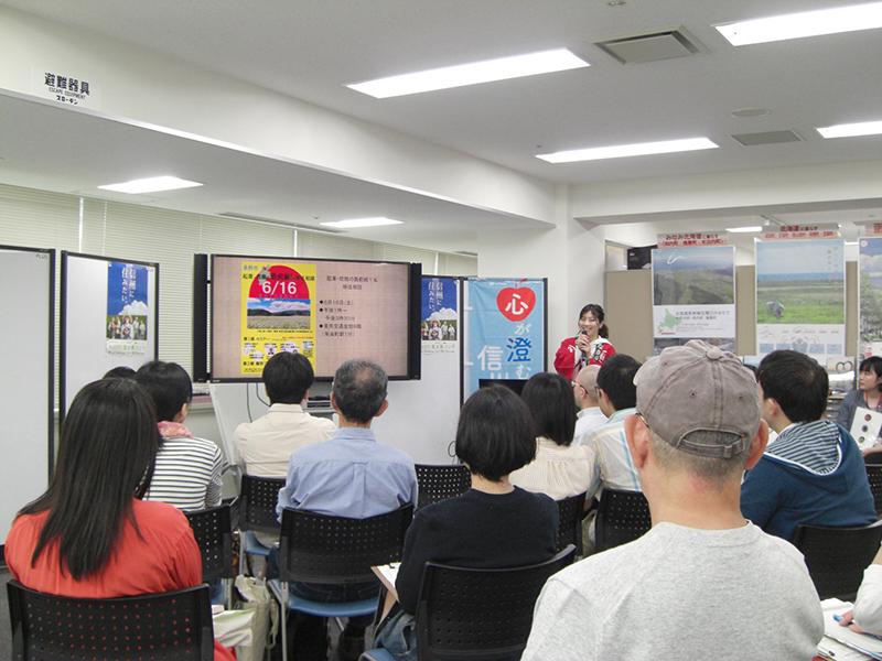 5月27日(日)東京にて楽園信州セミナー「一人多役のすすめ」のイベント風景