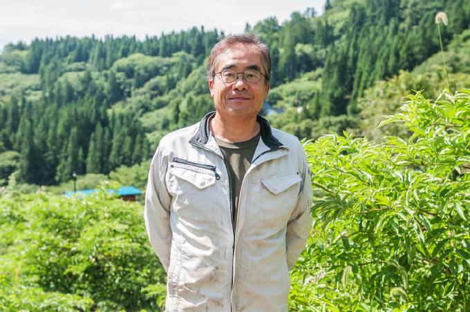 小田切地区 地域おこし協力隊 安西晋さん