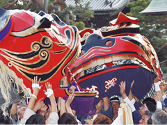 Shinonoi Lion Dance