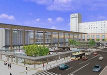 画像:新しい長野駅でお待ちしています。新幹線延伸で北陸から長野がもっと便利に