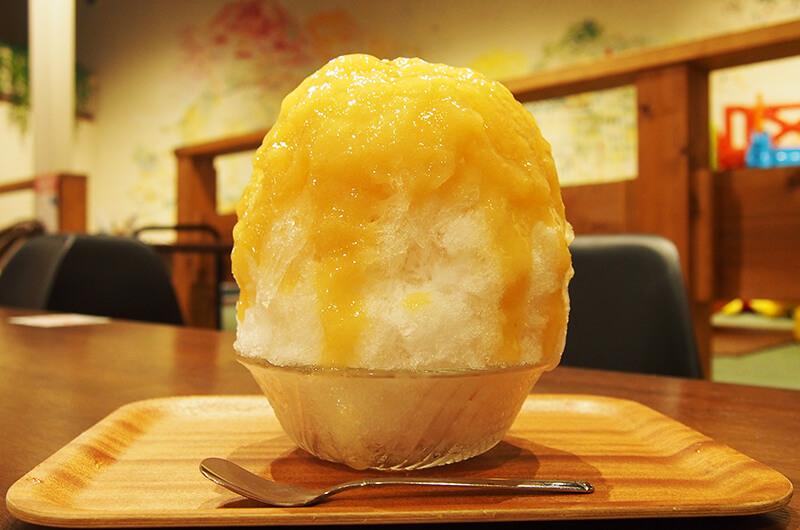 Cafe Elephant Mountainのかき氷 食べてみると納得のおいしさ。
