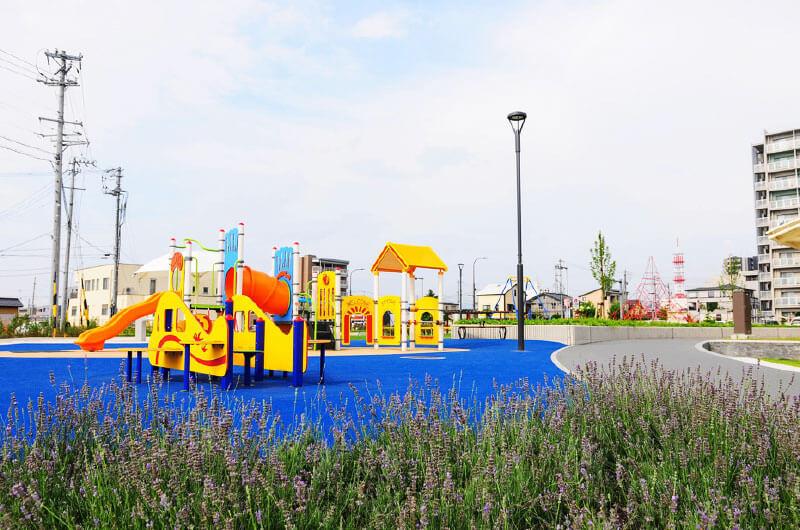 市民の憩いと安全を守る公園