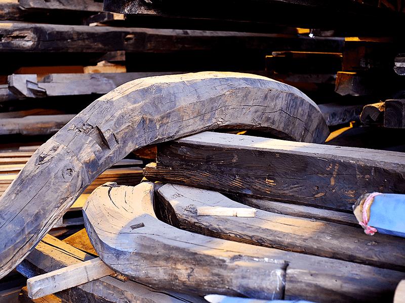 古い木材の新たな価値観を創出し、自社一貫体制を構築 2